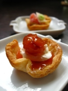 tasting tart shells