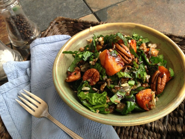 Winter grain salad