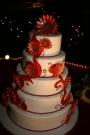 N wedding cake