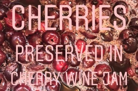 Cherry Wine Jam